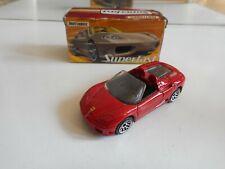 Matchbox Superfast Ferrari 360 SPider in Red in Box