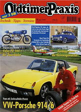 Oldtimer Praxis 6 99 1999 NSU ZD Pony VW-Porsche 914/6 Janus Simca 8 Sport PV544
