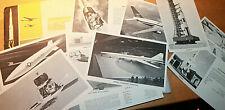 13 sheet&envelope BOEING 6 X 9 SST SRAM SATURN V B-52 B-47 B-29 LUNAR ORBIT 1967