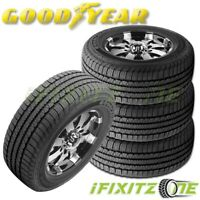 4 Goodyear Wrangler Fortitude HT All-Season 275/65R18 116T Truck SUV 65K Mi Tire