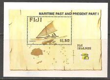 Fiji #834 (A190) VF MNH - 1998 $1.50 Maritime Heritage / Boats / Ship / Map
