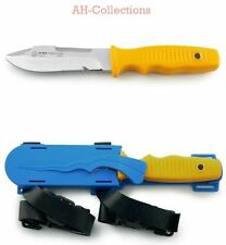 Puma submarinista cuchillo tec Wave Boating plástico-beinholster diving Knife 132221