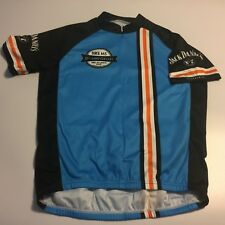 Mens L PRIMAL Cycling S/S Shirt Bike to Jack Daniels Back Oct 4-5 2014 Blue Flaw