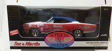 Sox & Martin 1969 GTX Signed By Ronnie Sox Supercar Collectibles  1:18 Scale