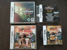 Worms Open Warfare - Metroid Prime Hunters Demo - Nintendo DS - Pal España