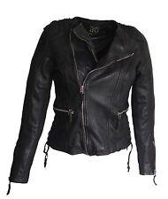 Damen Lederjacke Nancy schwarz Größe S