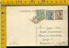 Regno Intero Postale Cartolina Michetti U 995 per l' estero