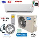 12,000 BTU Ductless Air Conditioner, Heat Pump Mini Split 110V 1 Ton With/Kit photo