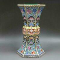 Chinese ancient antique hand make vase Porcelain Decoration