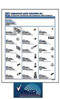 Control Block Service Kit for A-dec (Fits: Handpiece Control Block Century Plus)