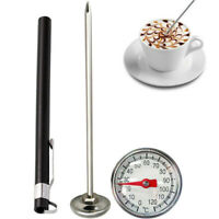 Stainless Steel BBQ Food Cooking Meat Coffee Milk Probe Thermometer Gauge Tool*1