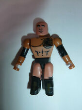 WWE Wrestling C3 Stack Down Series The Rock Individual 2.5in Minifigure