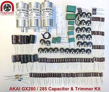 AKAI GX280 / 285 capacitor and trimmer upgrade overhaul kit