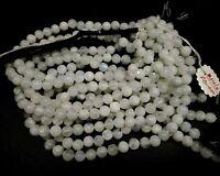 "Natural Rainbow Moonstone Balls 7 to 8 MM Precious Loose gemstone beads 10"""