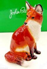 More details for john beswick ceramic animals 2010 - fox sitting