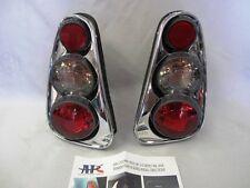 New Set 2002-2006 Mini Cooper Tail Lights Lamps Euro Retro 3D Chrome By APC