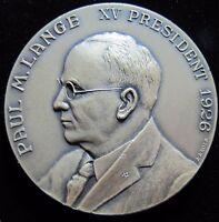 ROCHESTER NUMISMATIC ASSN Anniversary Souvenir Medal PAUL M. LANGE XV Pres 1926
