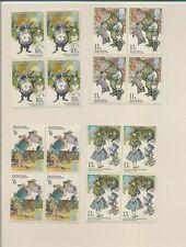 Great Britain - Mint Nh - #867-870 - Blocks (4) - Alice & Winnie The Poo