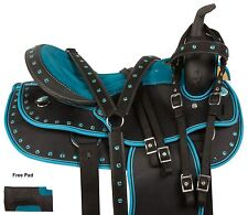 ARABIAN 16 17 WESTERN PLEASURE TRAIL BARREL RACING SHOW HORSE SADDLE TACK PAD