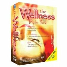WELLNESS TRIPLE PACK, THE Reflexology, Aromatherapy & Reiki 3DVD NEW SEALED