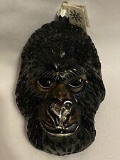 Gorilla Head By Slavic Treasures