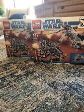 2 LEGO Republic Dropship with AT-OT Walker