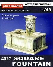 PlusModel Diorama Brunnen Eckig Square Fountain 1:48/32/35 Modell-Bausatz kit