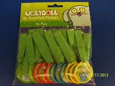 Uglydoll Ugly Dolls Cartoon Kids Birthday Party Supplies Favor Plastic Medals
