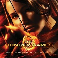 THE HUNGER GAMES CD SOUNDTRACK - SONGS FROM DISTRICT 12 AND BEYOND -NEW UNOPENED