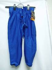 Youth Football Pants Game Practice Slotted Royal Small