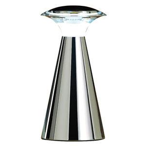 Tischleuchte kabellos: Edelstahl LED-Tischleuchte (LED Tischleuchte Batterie)