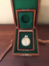Hamilton Model 22 chronometer watch Army Airforce Issued  Original Box --- RARE