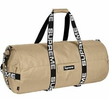 Supreme Large Duffle Bag SS18 Tan Cordura Bag New In Hand 100% Authentic