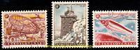 EBS Czechoslovakia 1957 - International Geophysical Year - Michel 1055-1057 CTO