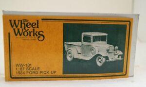 Wheel Works 96101 1:87 34' Ford Pickup Truck