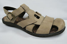 BORN CARYS Closed toe Fisherman Sandals Womens size 11 Stone