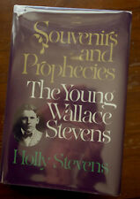 Souvenirs and Prophecies: The Young Wallace Stevens first edition