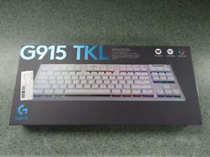 Logitech G915 TKL Wireless Tactile Keyboard White