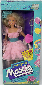 Vintage Perfect Prom Maxie Doll Hasbro #8220 New In Box 1987 Beautiful  Complete