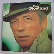"""2 x 33T Yves MONTAND Disques LP 12"""" Son dernier ONE MAN SHOW Intégral CBS 67281"""