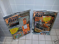 Très Rares GI Joe  Action Man  Giant Lucky bag Vintage X 2 (2000/2001) Hasbro