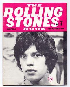 Classic Rolling Stones Monthly magazine Book No 7 Dec 1964 Original Copy VGC