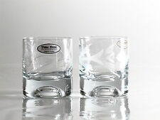Time Tree Hand Decorated Whisky Glass (Set of 2)