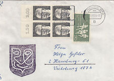 Gestempelte Briefmarken mit Echtheitsgarantie aus Berlin (1949-1990)