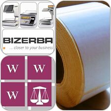 Bizerba Thermal Scale Labels - 58x60mm, 12 Rolls,  6,000 Labels