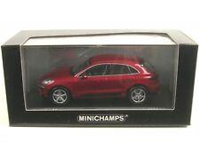 Porsche Macan (impulsrotmetallic) 2013 (red metallic)