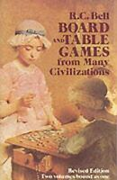 Board and Table Games from Many Civilizations (Paperback or Softback)