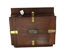 Eastman Dry Plate Film Co. 1885 Polished Wood 5 X 8 Roll Film Holder — Rare