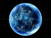 SPACE PHOTO CRESCENT MOON SUN LIGHT SATELLITE ART PRINT POSTER 315PYA