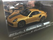 Limited Porsche 911 (991) turbo S Exclusive series Golden 1:43 Spark No Hpi Bbr